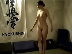 Naked Dark-haired Catfight