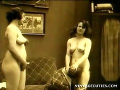 Vintage 1920s Real Group Sex Elder+Youthful (1920s Retro)