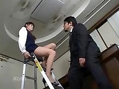Crazy Japanese girl in Horny Secretary, Compilation JAV video
