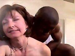Klasické hotwife interracial DP