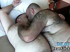 Happy and horny gay bears Don James part2