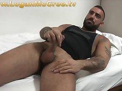 Machofucker Angelo Stallone Solo on LoganMcCree.tv