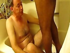Interracial WS vid of two dads drinking each others piss (GBMwsRSv1full)