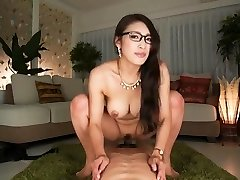 What's her name? Asian secretary rails and takes creampie