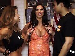 PornhubTV Nikki Benz Conversation at 2015 AVN Awards