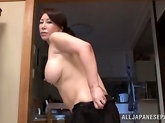 Wako Anto super-fucking-hot mature Asian babe in position 69
