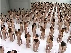 Ample Gangbang Orgy