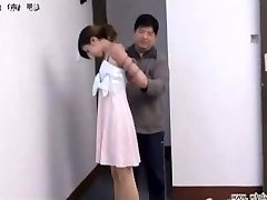 Chinees meisje in bondage