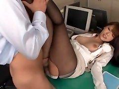 Geweldige Japanse slet Ria Horisaki in Best Rimming, Kousen JAV scene