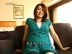 Impressive Japanese model in Horny Pregnant, Hairy JAV video
