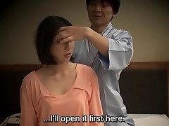 De ondertitel Japans hotel massage orale seks nanpa in HD