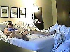 Skrivene seks kamerom snimljeno napaljeni шалунья jilling od