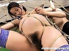 Freaky Pregnant Fetish Bondage Fuck AV