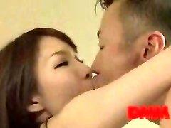 Maisaki Mikuni kiss and smash session