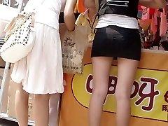 Japanese buying their footwear