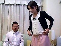 Tomomi Shimazaki Knullet i front av Mann (Usensurert)