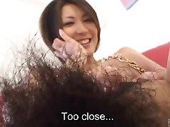 Japāņu subtitriem amatieru ideāls bušs kailo ķermeni pārbaudīt