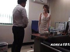 koreaanse porno hete koreaanse baas dame