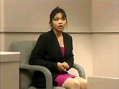 The trial of Mika Tan - Hilarious assfuck dildo