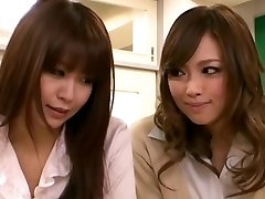Horny Asian girl Seduces Schoolteacher Lesbian