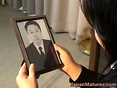Japanese mature damsel has hot sex