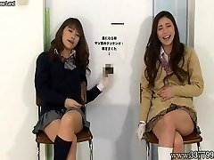 Japanese gals to hj with a laugh