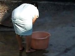 Spying Indian Aunty Massive Ass - Bend Over Bum - Booty Spycam - Desi Candid