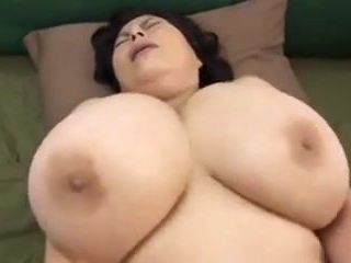 Japanese Mature with thick tits
