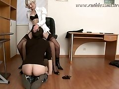 RuthlessMistress.com - Office worker was lured to be a marionette