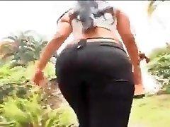 Tearing Up Hard African Girl 1
