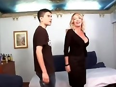 Enormous dicked boy shags ultra milf
