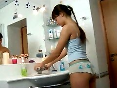 fucked in the bathroom