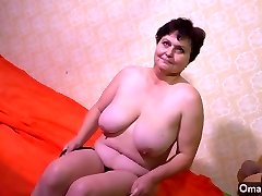 OmaHotel High old woman and grandmother with immense boobs