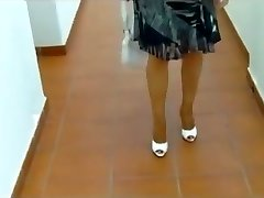 Exotic amateur Outdoor, High High-heeled Shoes hookup video