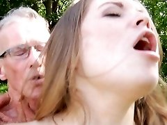 Big old boner smashes nice a very young sweet gal