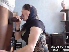 Submisívne Arabská Žena Príjemné Jej Manžel