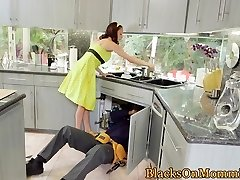 Housewife BBC jammed in interracial trio