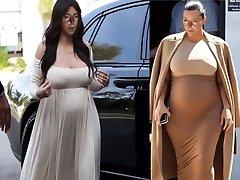 Mind-blowing Pregnant Shemale Marisa Kardashian