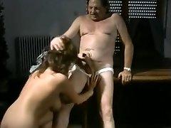 Vintage classic pervert old man