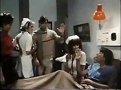 Nurse Parker handles patient to a deep throat