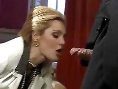 The best XXX vids from sumptuous classic porn star Laure Sainclair