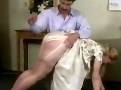 Mischievous Secretaries Week Nylon Panties