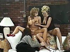 Hottest pornstars Menage Trois and Anna Amore in extraordinaire threesomes, nurse hardcore movie