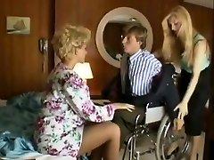 Sharon Mitchell, Jay Πιρς, Marco σε vintage σκηνή σεξ