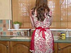 Britische Hausfrau