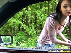 Mofos - Young stranded Belle Claire need help