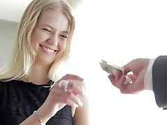 Alluring Hooker Veronika Seduces Rich Customer