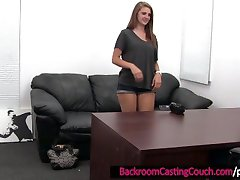 Petite Young Teen Fucked and Mouth-Creampie in the Office
