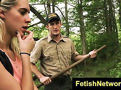 TeensInTheWoods Goldie Rush extremas bdsm