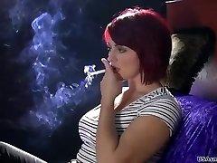 Sexy de fumer modèle